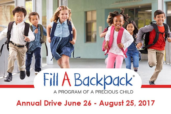 "RSS Proudly Supports ""Fill a Backpack"" Program"