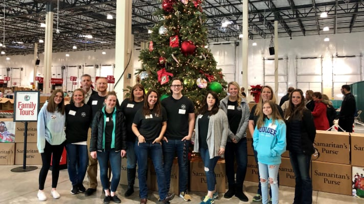 RSS Volunteer Day at Operation Christmas Child Processing Center