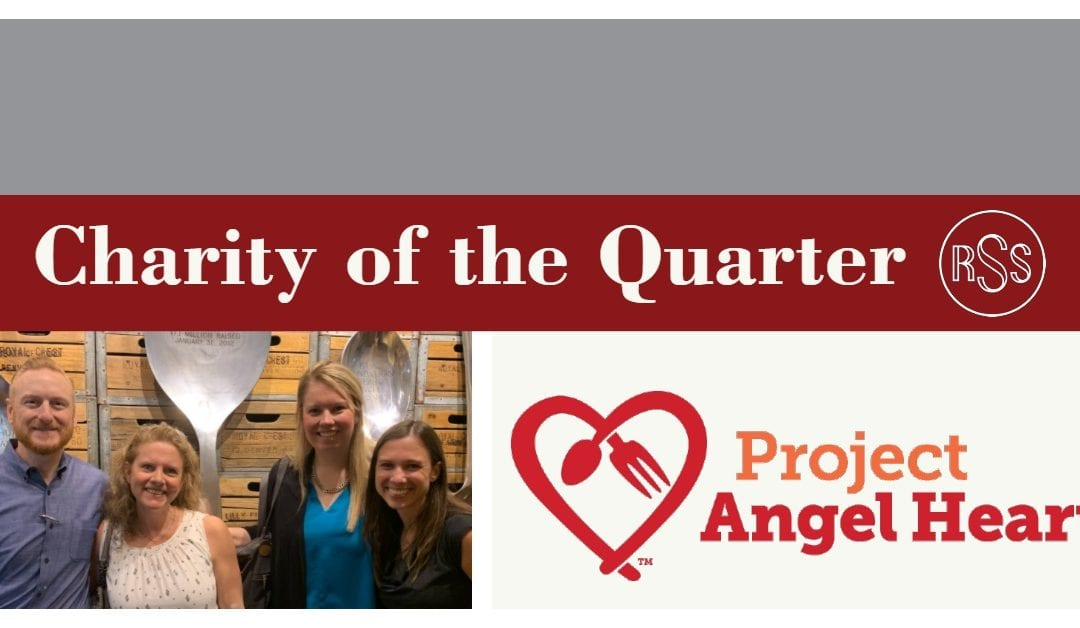 Project Angel Heart: Charity of the Quarter