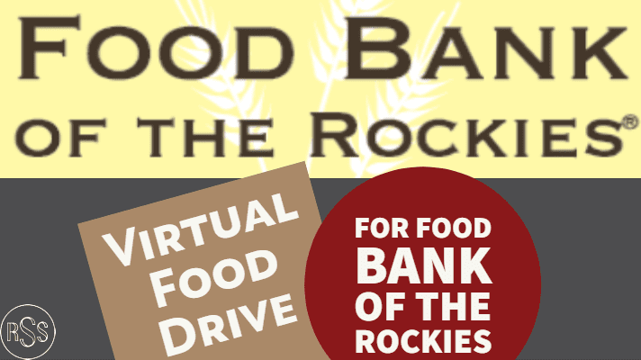 RSS Virtual Food Drive Supports Food Bank of the Rockies & Hungry Families in Colorado