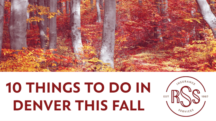 10 Things to do in Denver this Fall