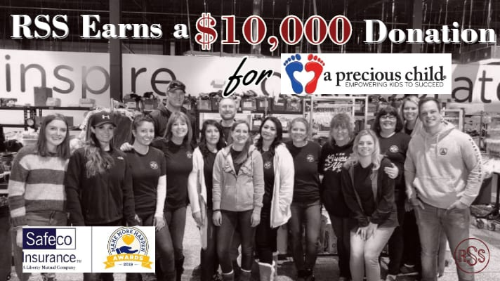 RSS Earns $10,000 for A Precious Child!