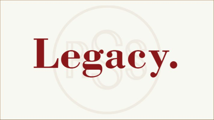 Living Our Legacy…Today