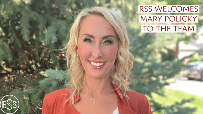 RSS Welcomes Mary Policky to the Team