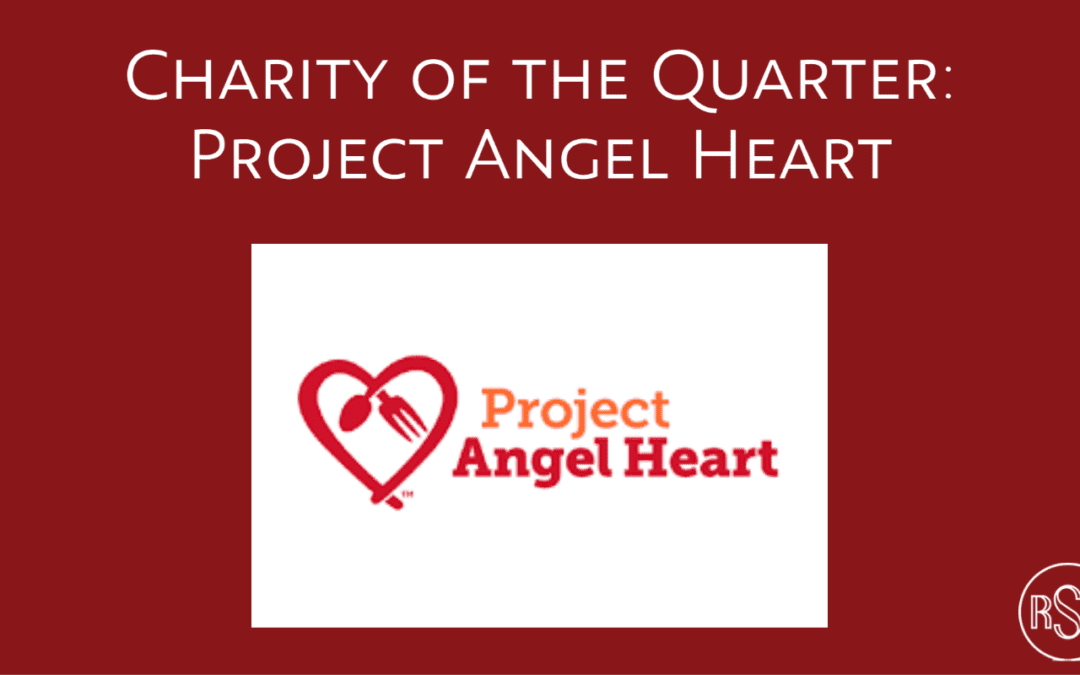 Charity of the Quarter: Project Angel Heart