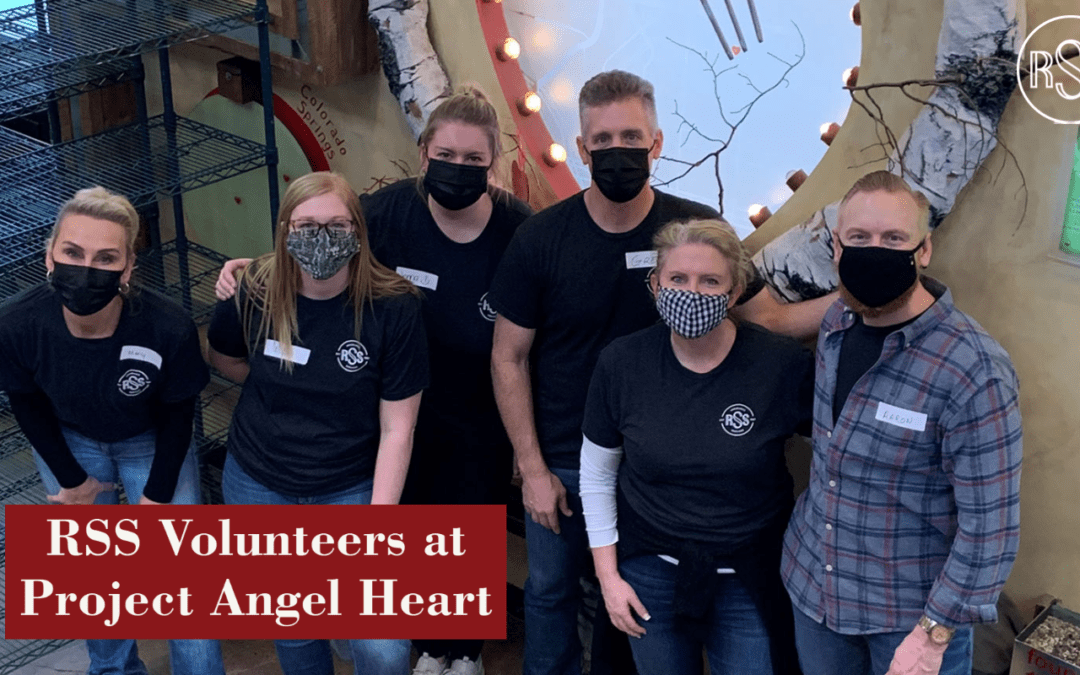 RSS Volunteers With Project Angel Heart
