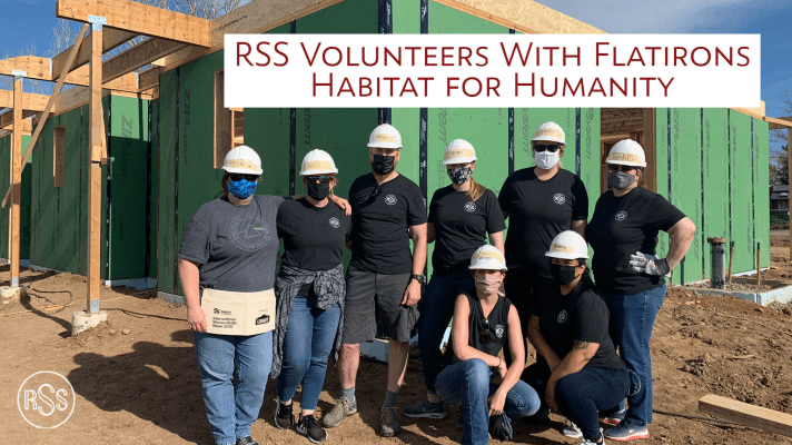 RSS Volunteers With Flatirons Habitat For Humanity