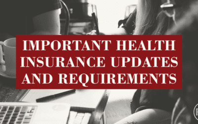Important Health Insurance Updates and Deadlines